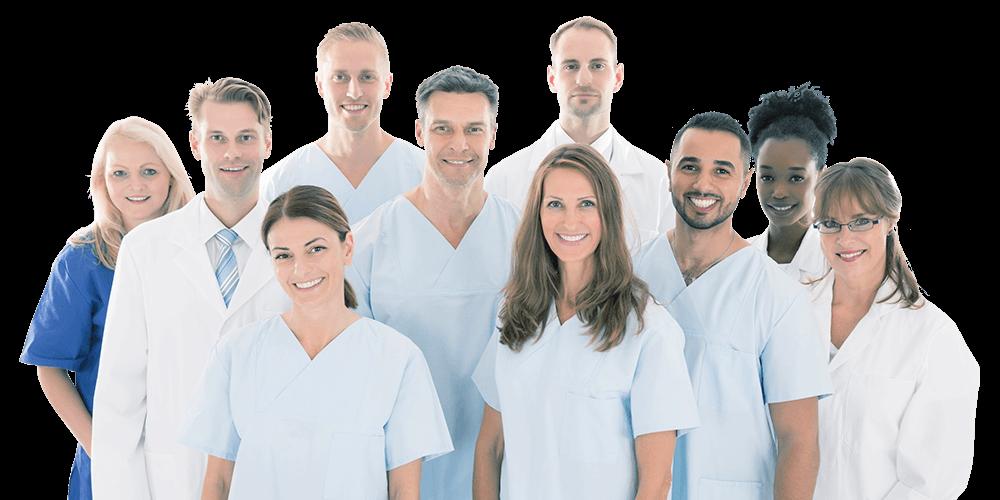 Dentistas voluntarios en la Fundación Gavaldón